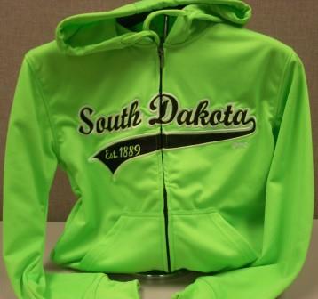Hoodie Sweatshirts SD Neon Green