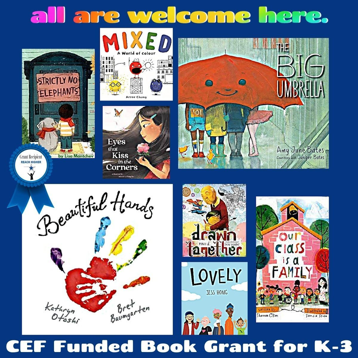 K-3 Literacy and Wellness Grant: All Are Welcome Here