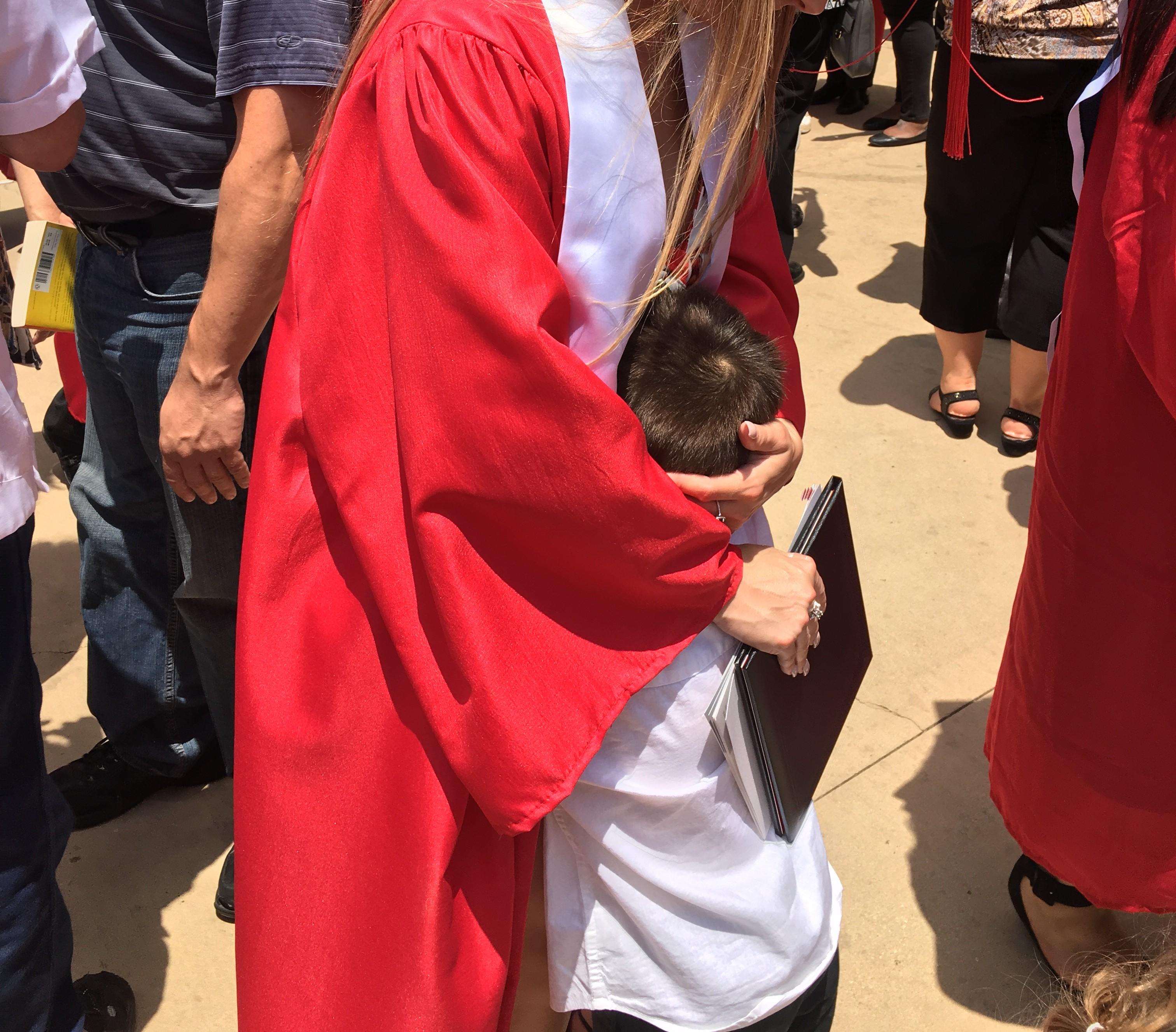 Graduation - happy child