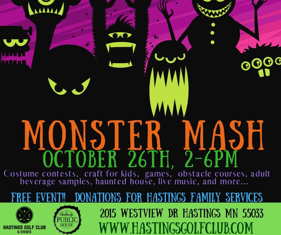 Monster Mash at Hastings Golf Club