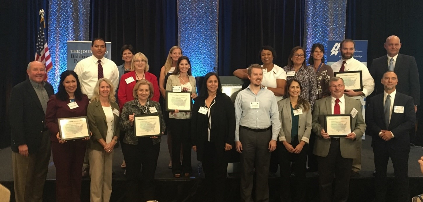 First Five Communities Recognized for Their Commitment to Community Excellence