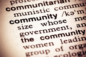 Community-dictionary-definition