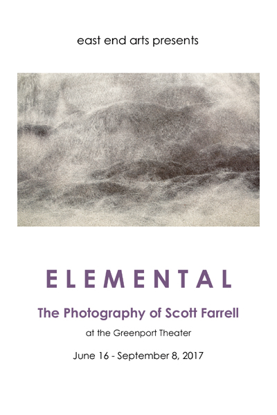 Artist Talk & Reception: ELEMENTAL - The Photography of Scott Farrell