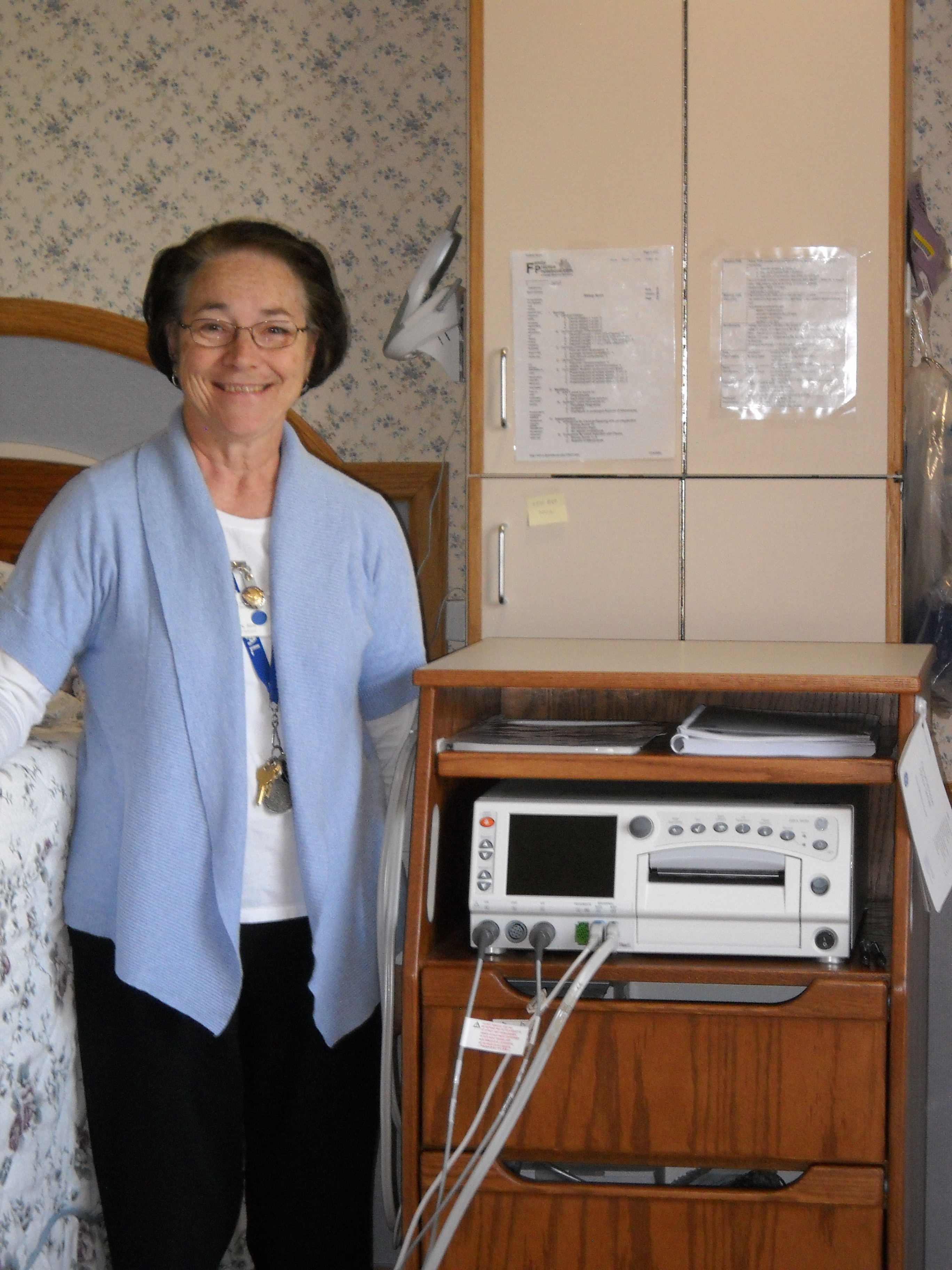 Hospital purchases new, state-of-the-art fetal heart monitor