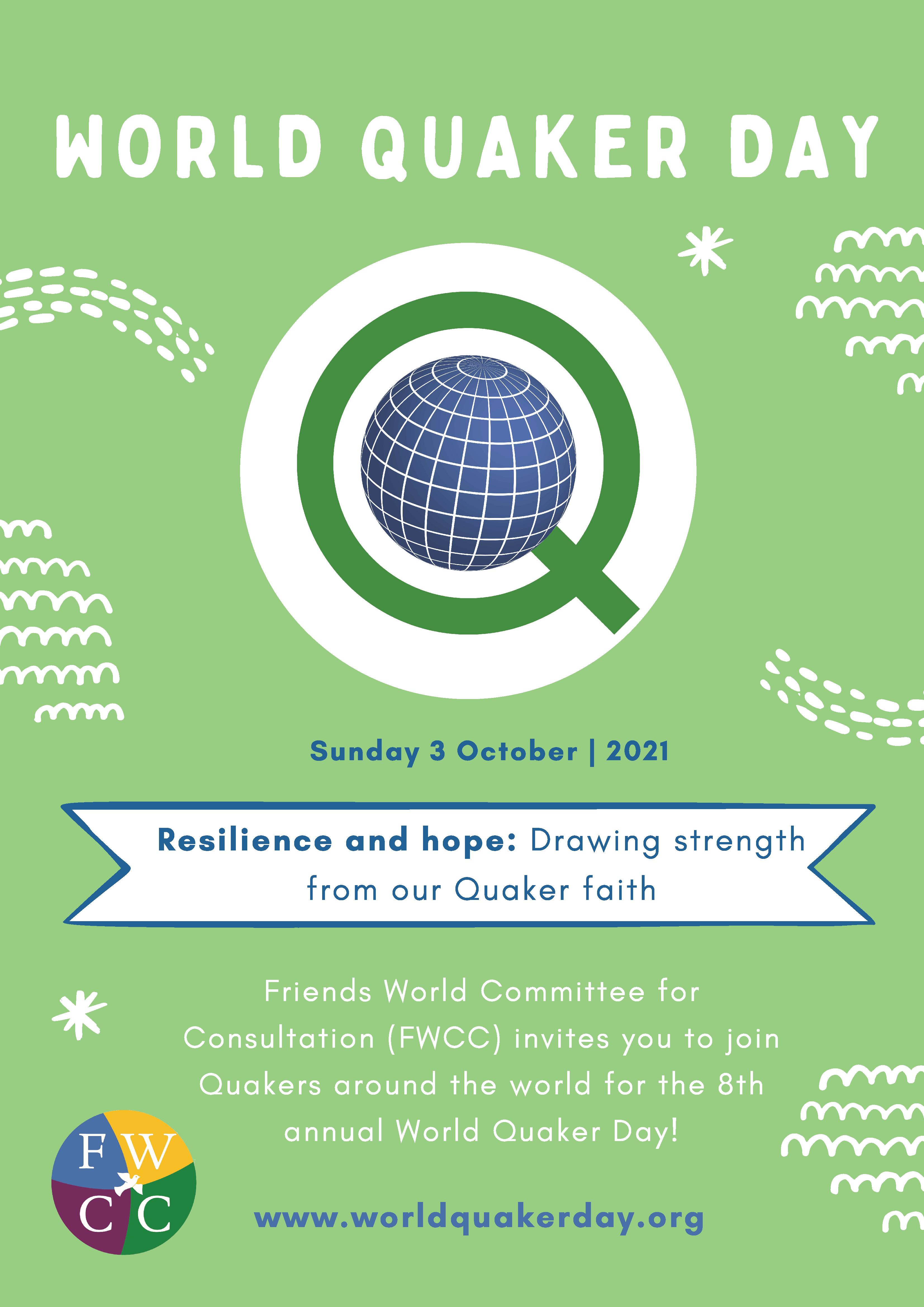 World Quaker Day Poster