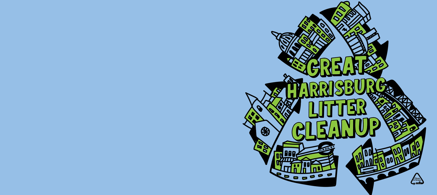 Register for the 9th Annual Great Harrisburg Litter Cleanup