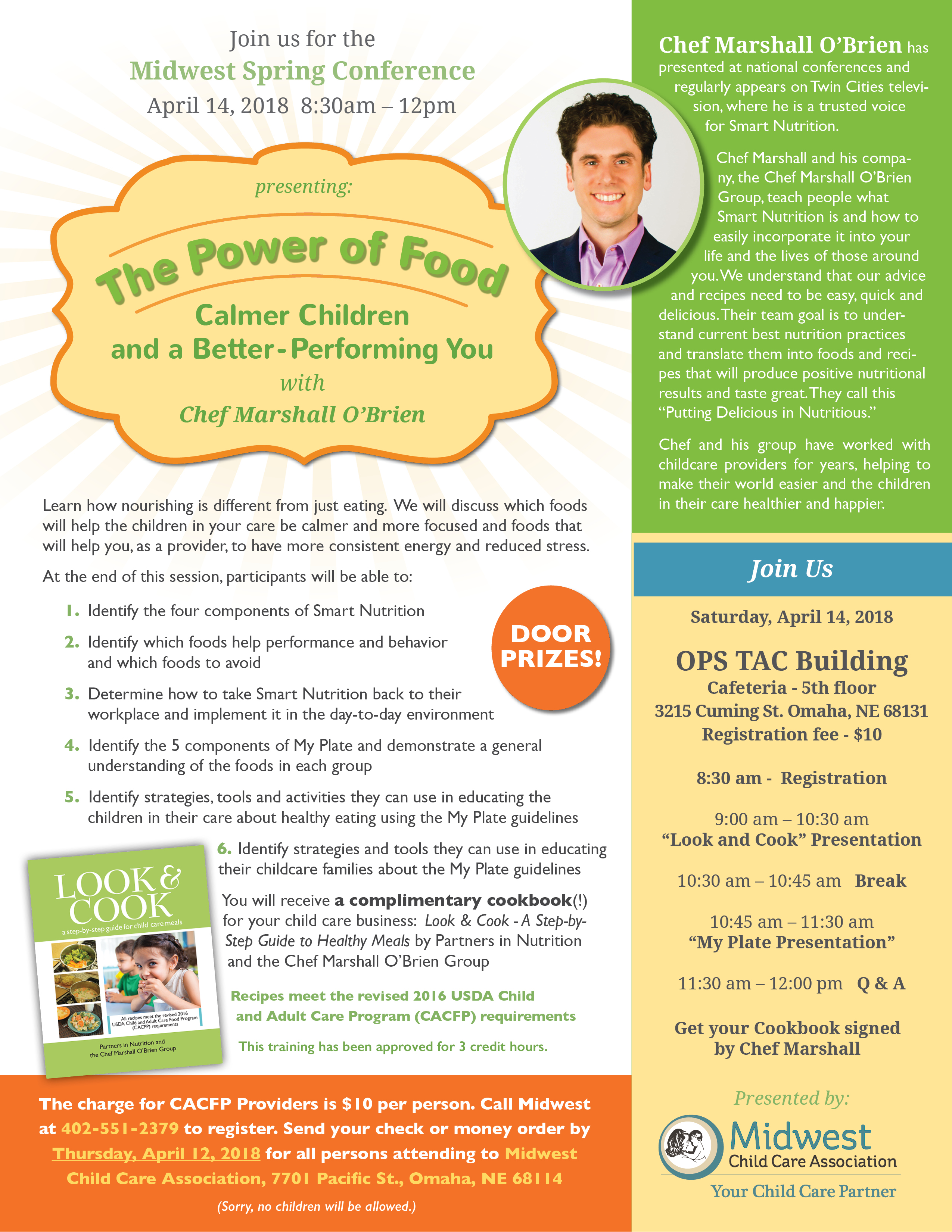 The POWER of FOOD Spring Conference