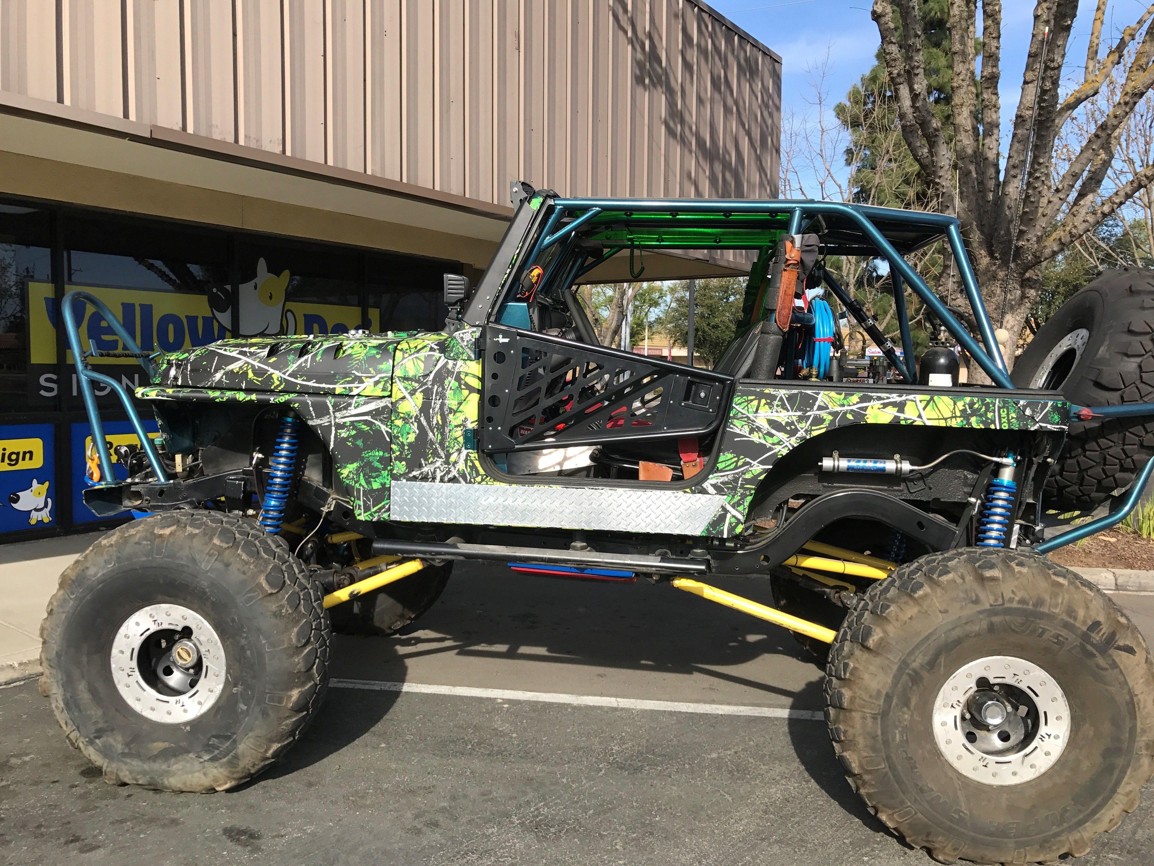 Rock Crawler Jeep