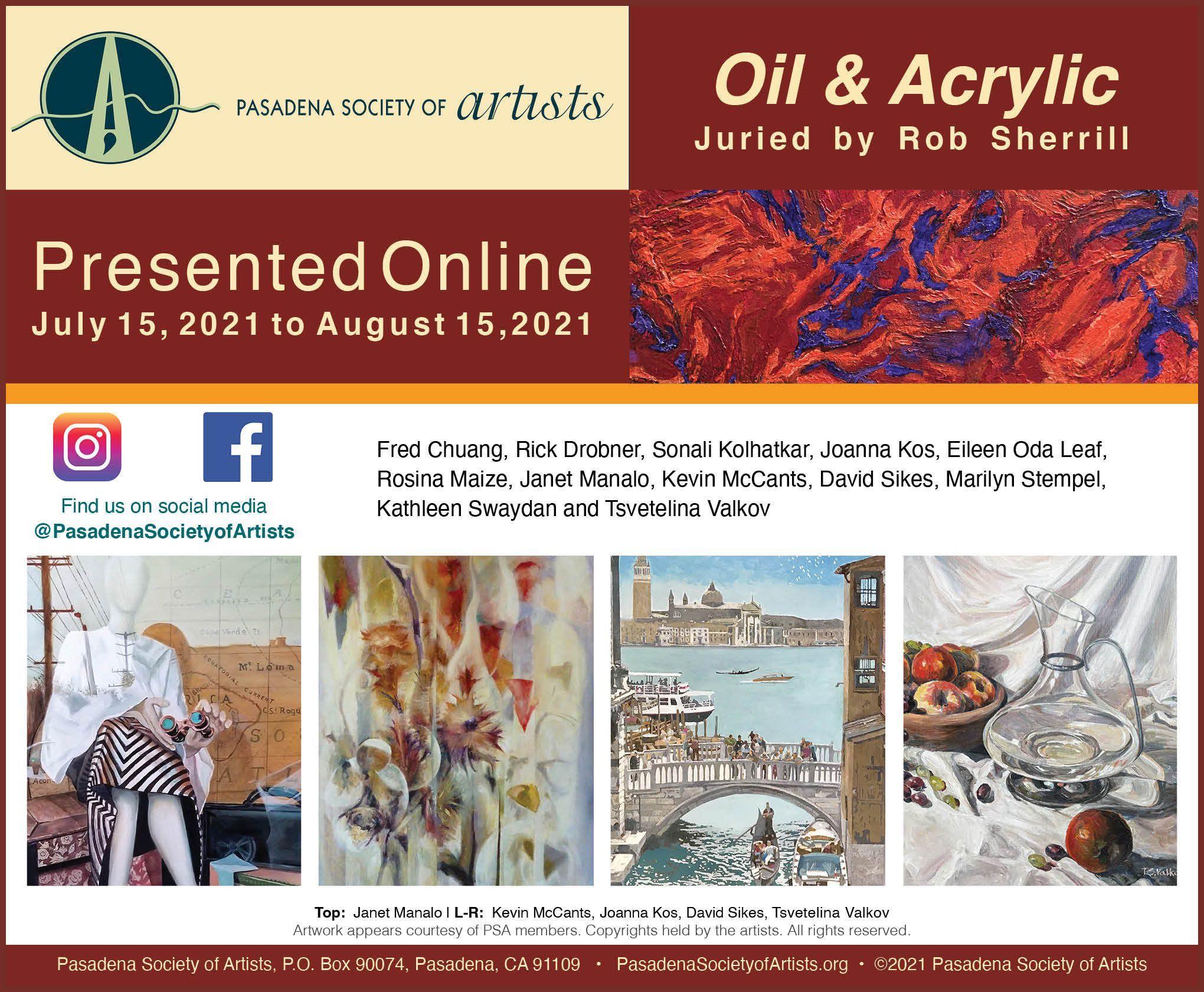 2021 Oil & Acrylic