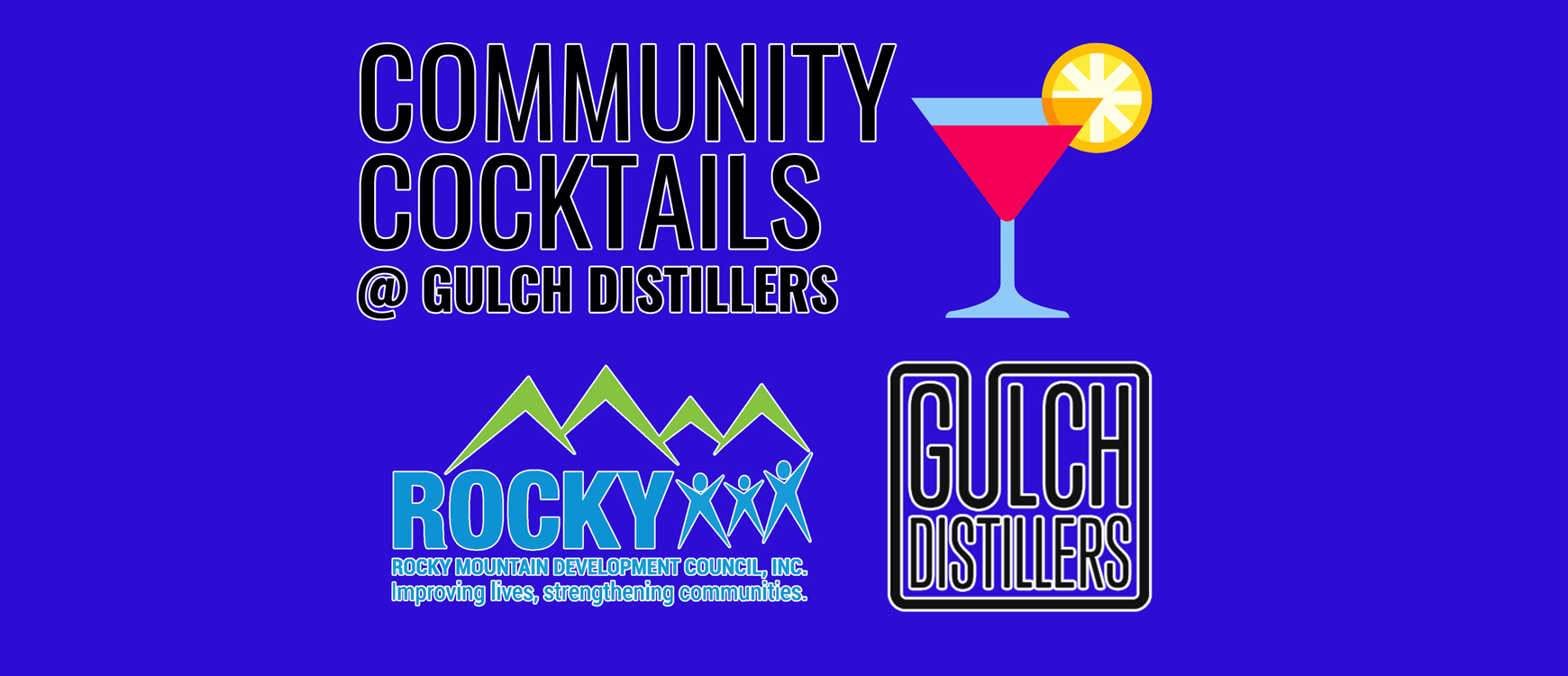 Community Cocktails at Gulch Distillers
