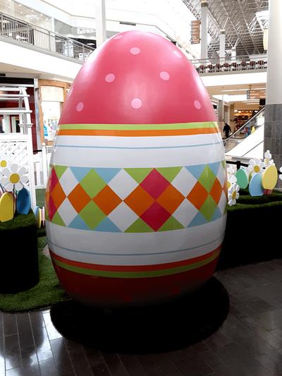 Easter Egg Wrap Augusta Mall