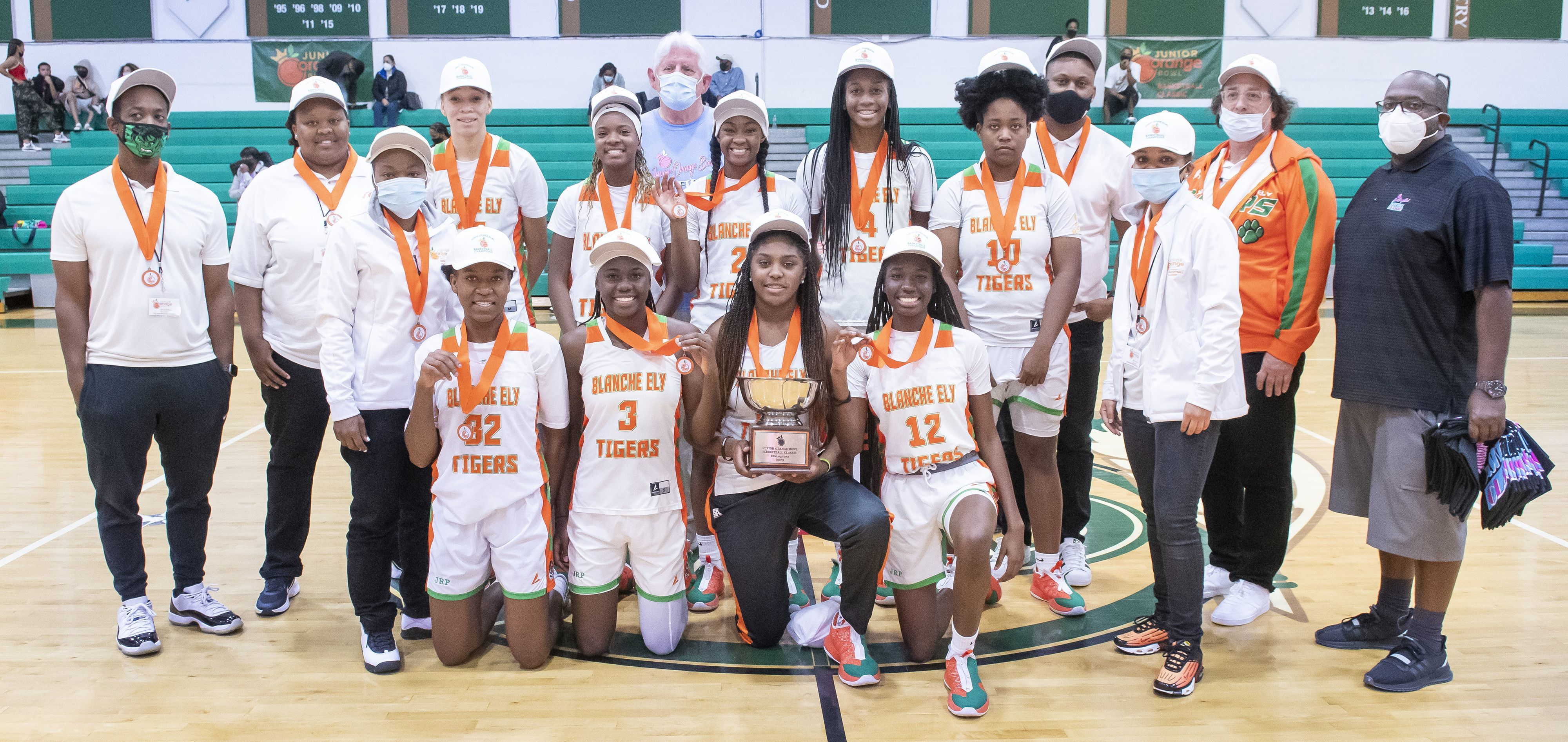 Kendall Gazette - Girls' Basketball Classic Champions - Pompano Beach Blache Ely