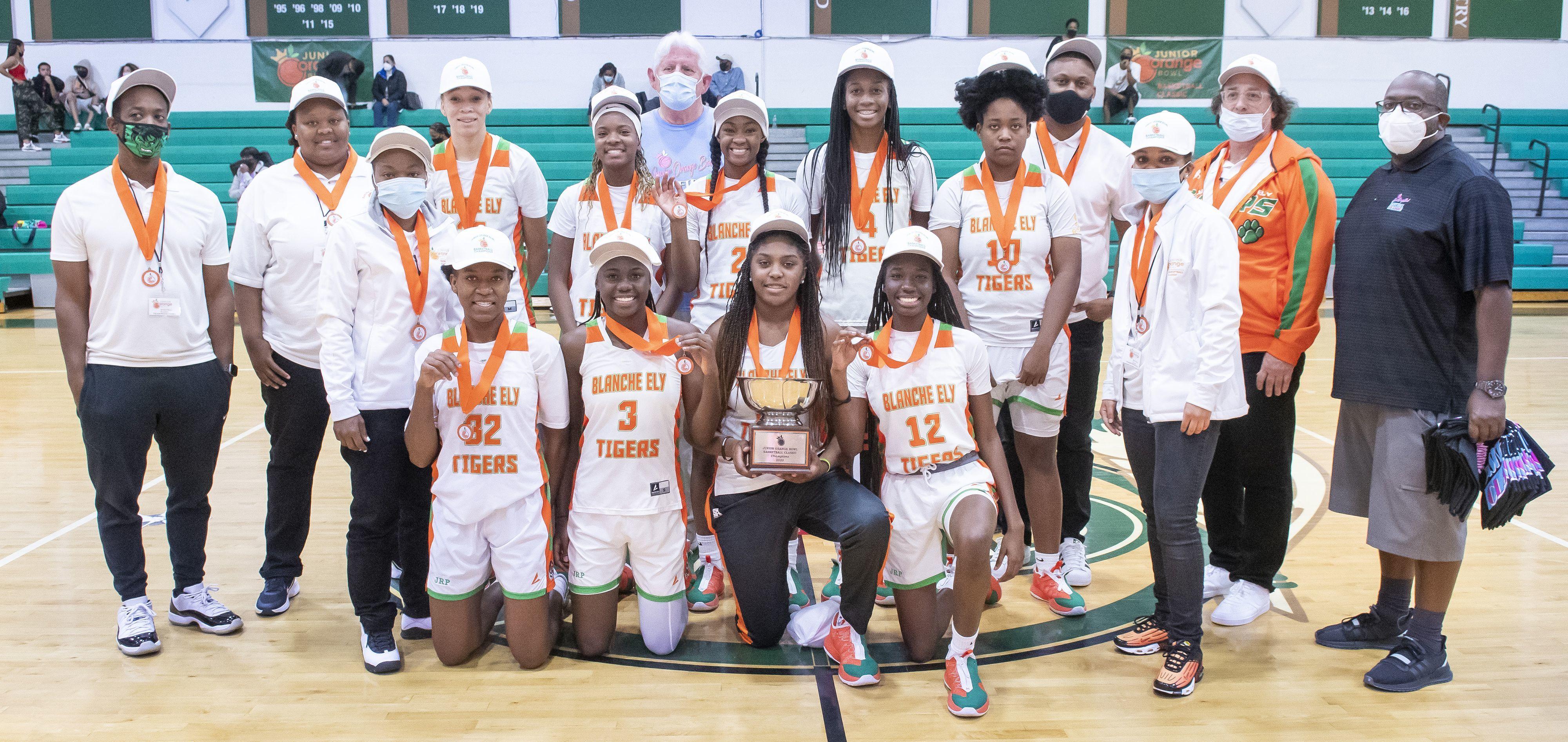 Kendall Gazette - Girls' Basketball Classic Champions - Pompano Beach Blache Ely