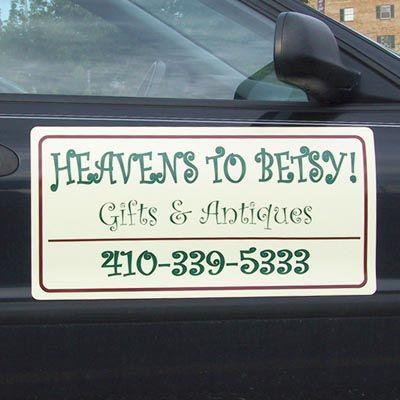 Heavens to Betsy