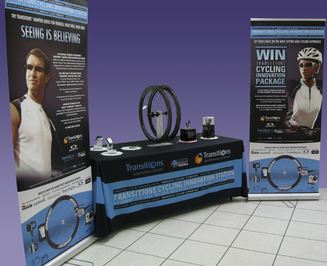Pull Up Banners and Table Display