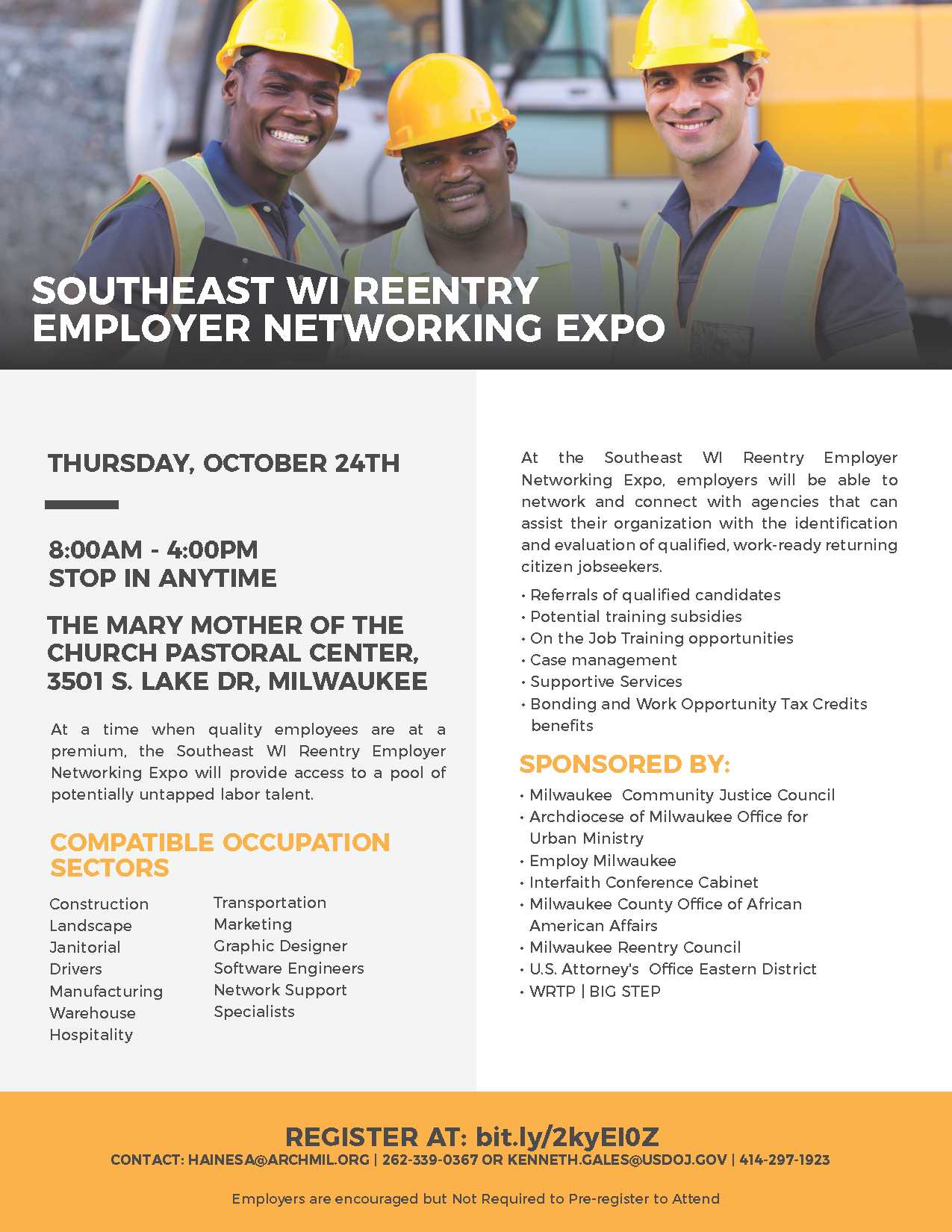 Southeast WI Reentry Employer Networking Expo