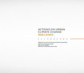 Actions on Urban Climate Change Resilience