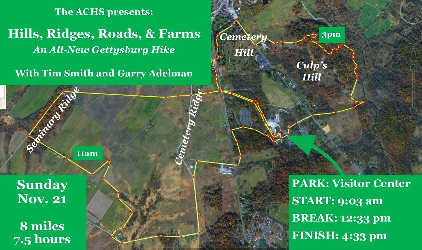 Gettysburg Hike, ACHS