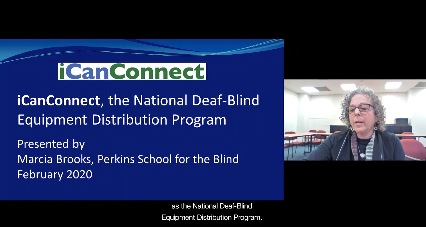 iCanConnect: the National Deaf-Blind Equipment Distribution Program