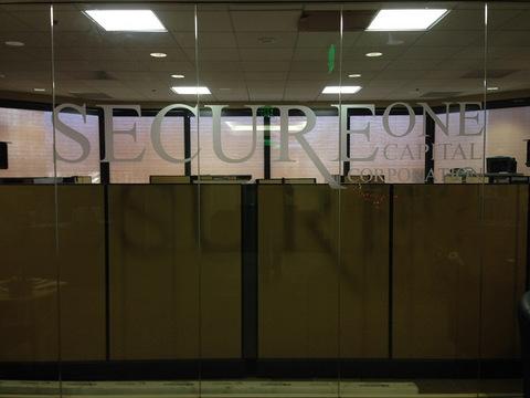 Window graphics for banks Orange County
