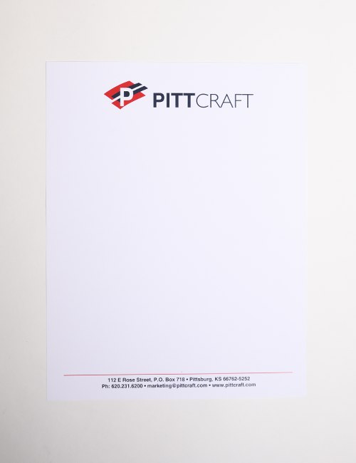 Letterhead | Full Color | 8.5x11""