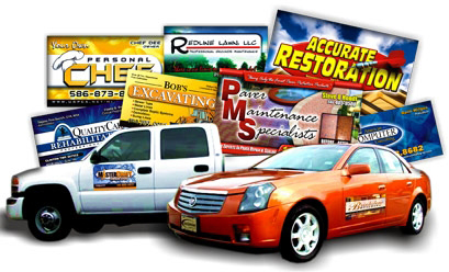 Magnetic Signs for Vehicles