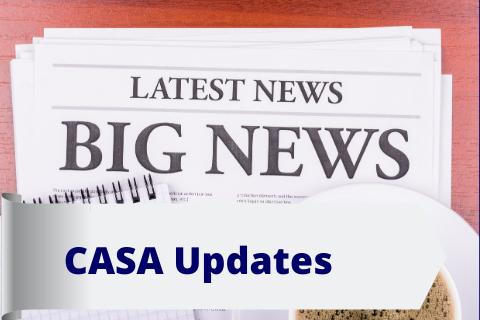 CASA Updates