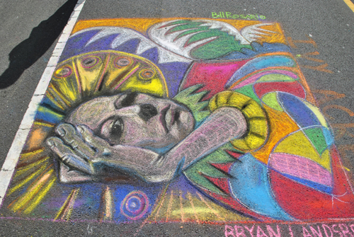 Tips for Street Painting Artists! CLICK HERE to download tips & recommendations >>