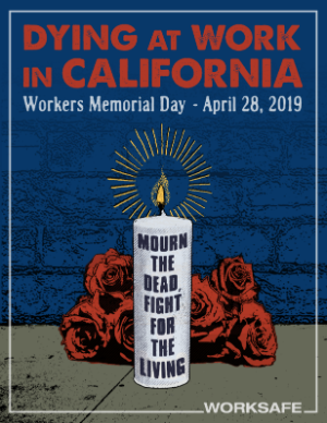 Worksafe Releases Report for Workers Memorial Day 2019