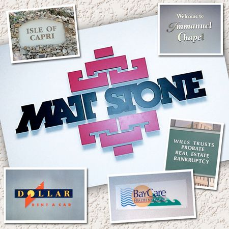 3D Logos & Lettering & Graphics  (Photo Gallery)