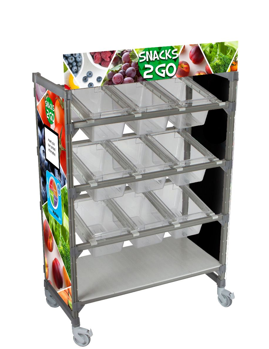 Snacks 2 Go Flex Cart Graphics