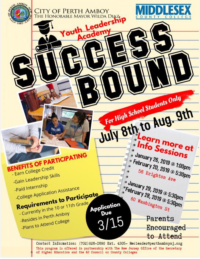 Success Bound Info Session
