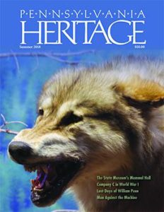 Summer 2018 Pennsylvania Heritage magazine available