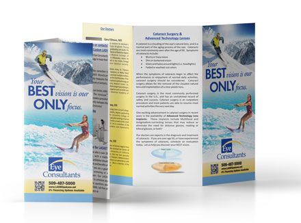 brochures full color printing digital or offset
