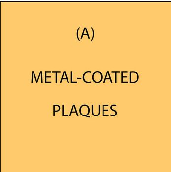 M7001 - (A) Metal-Coated (Bronze, Brass, Copper, Nickel-Silver, Stainless Steel, Aluminum, Iron) 3D Carved Plaques