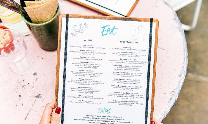 New Menu Law Calls For New Design and Print