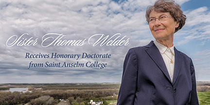 Sister Thomas Welder Receives Honorary Doctorate from Saint Anselm College