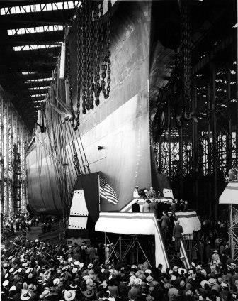 1941 recording of USS South Dakota christening available on State Historical Society website