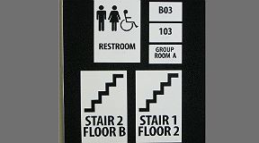 ADA signage grade ii braille