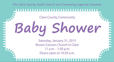 Clare County Community Baby Shower