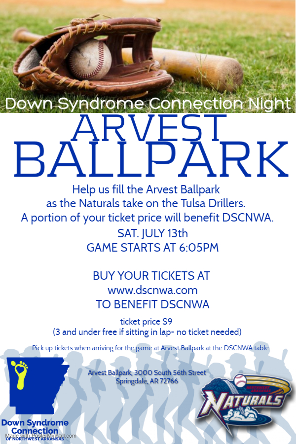 Down Syndrome Connection Night at Arvest Ballpark