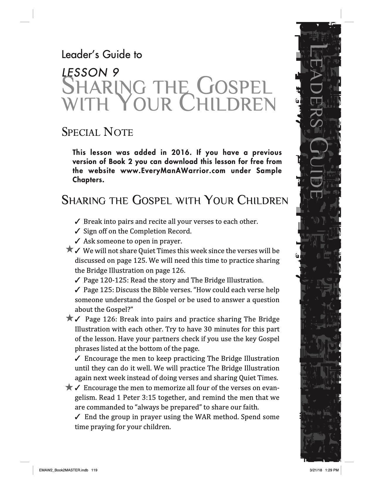 Book 2 - Lesson 9