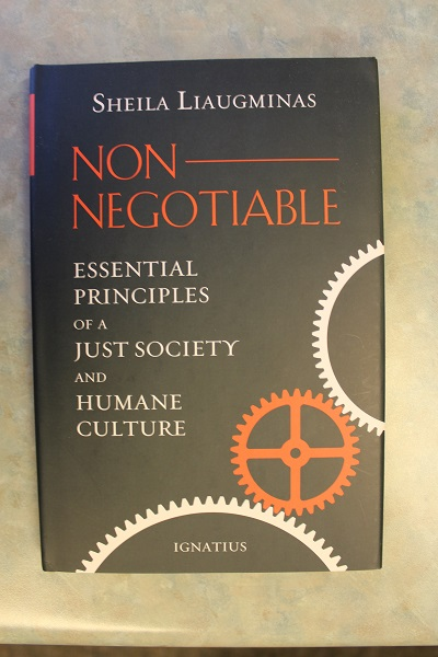 Non-Negotiable By Sheila Liaugminas