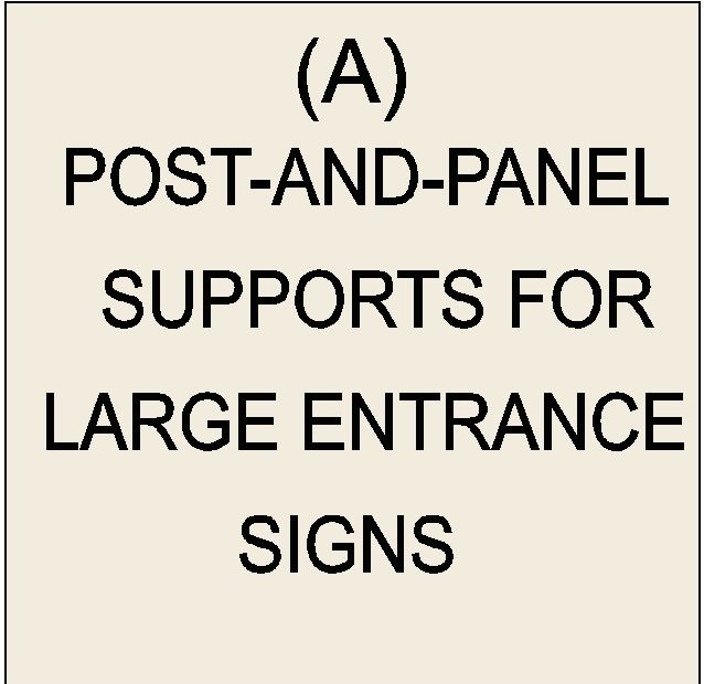 M6100 - Post-and-Panel Signs (click for description)