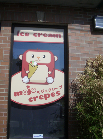 Mojo Crepes Window Graphics 3
