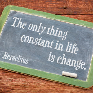 Gratitude Amid Change