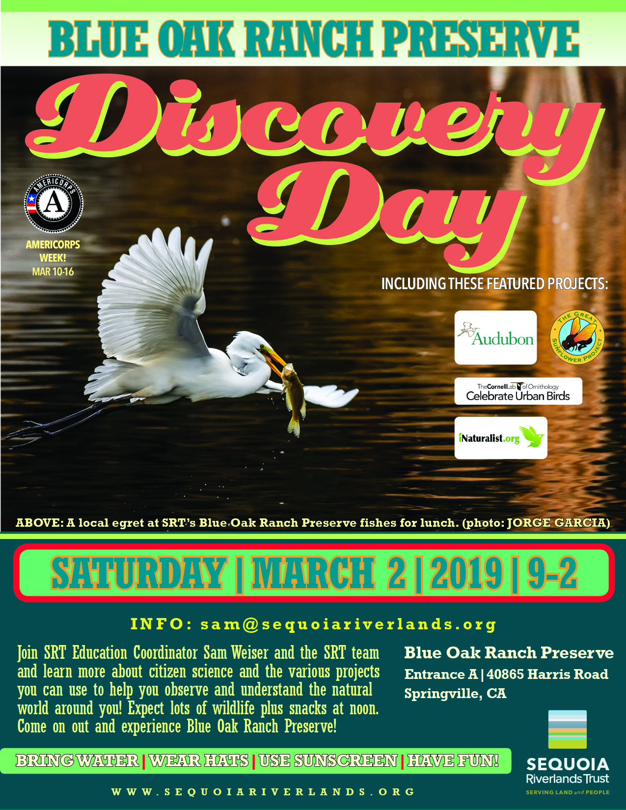 Blue Oak Discovery Day features citizen science Mar. 2
