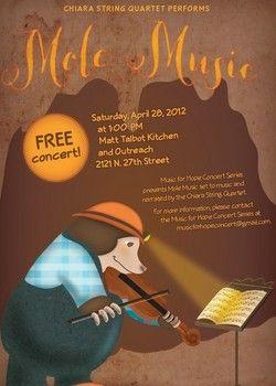 Chiara String Quartet performs a Free Concert Saturday, April 28th -1:00pm at Matt Talbot Kitchen & Outreach