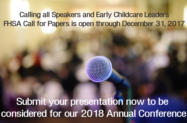 Calling all Speakers and Childcare Leaders