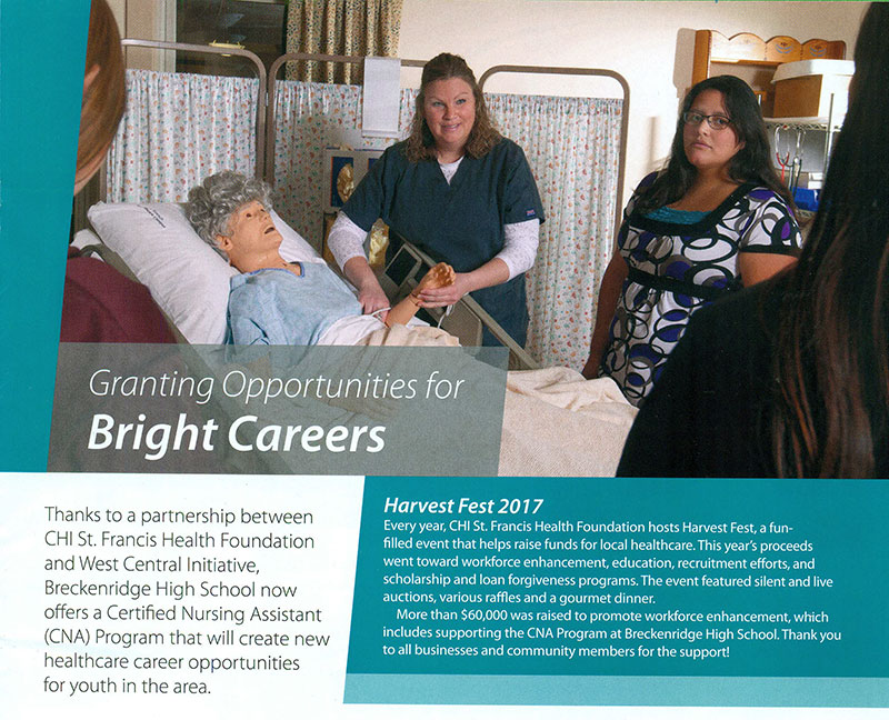 Granting opportunities for bright careers